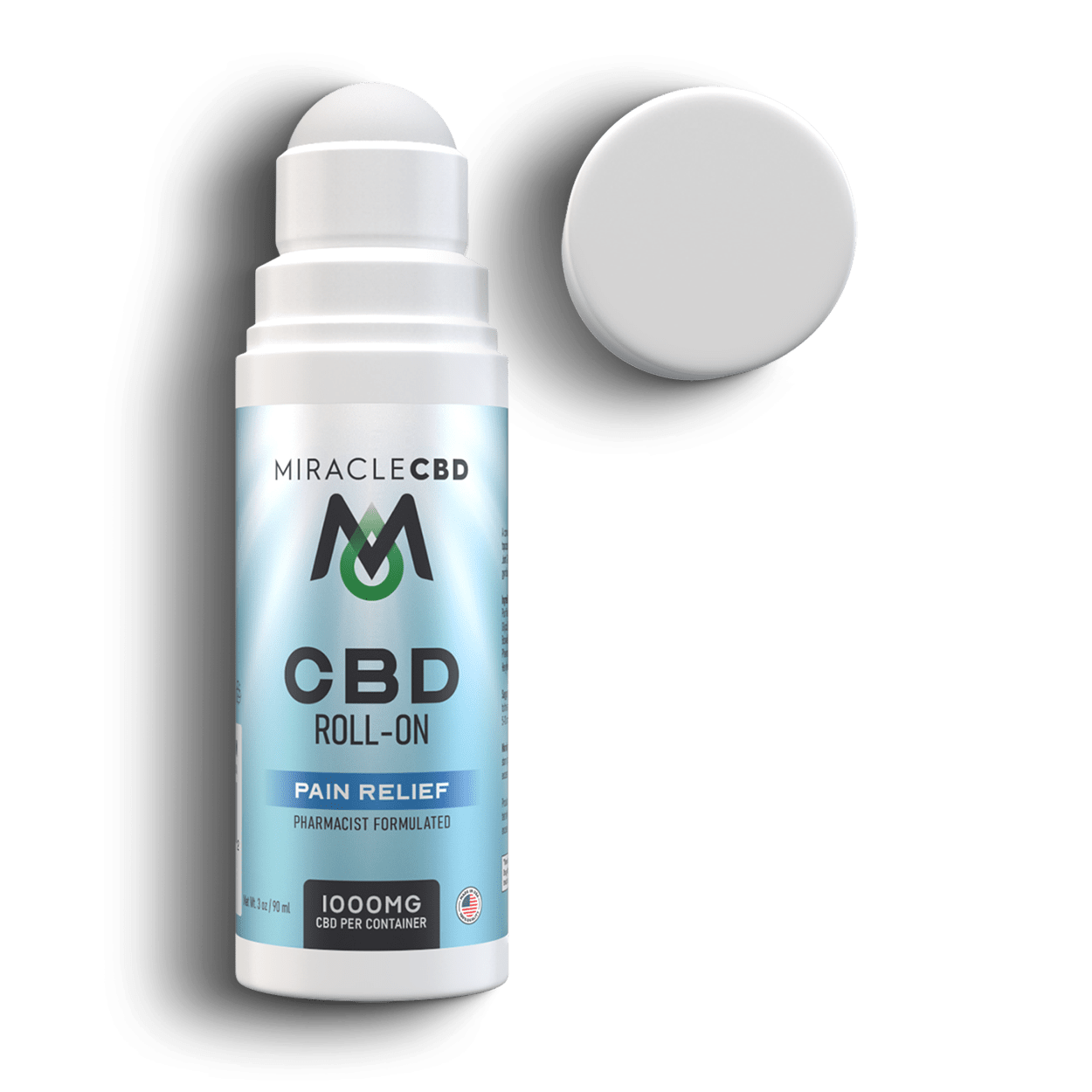 Miracle CBD Isolate Roll-On 1000mg | CBD Topicals | CBD Topicals